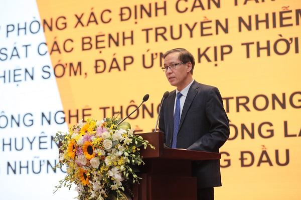 Ông Đặng Quang Tấn, Cục trưởng Cục Y tế dự phòng